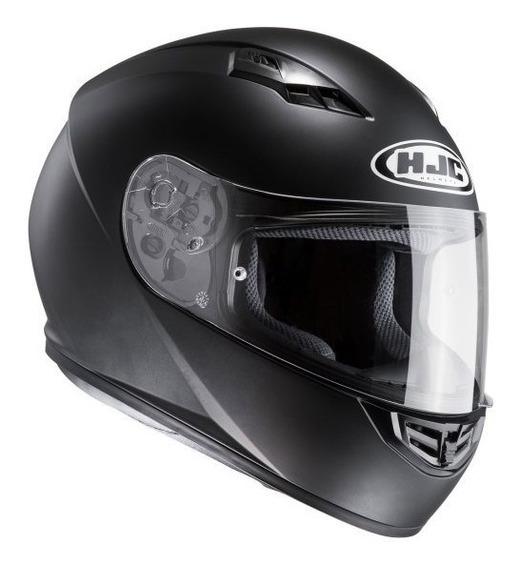 Casco Moto Hjc Cs15 Integral Matt Black Alta Calidad Cuotas