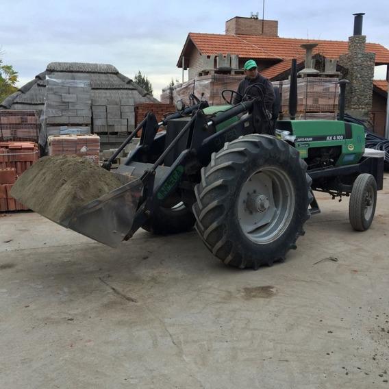 Tractor Deutz Ax 4.100 Invertido Con Pala Cargadora