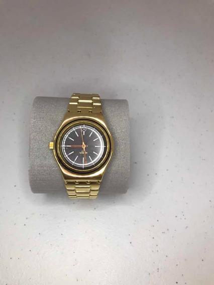 Relógio Swatch Irony Medium Dourado
