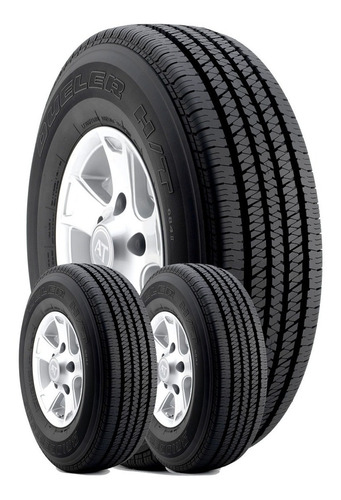 Imagen 1 de 7 de 3u 255/70 R16 Bridgestone Dueler H/t 684 I I Envío + Válv $0