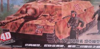 Maqueta Armable Carro Caza Tanques Jagdpanzer Iv