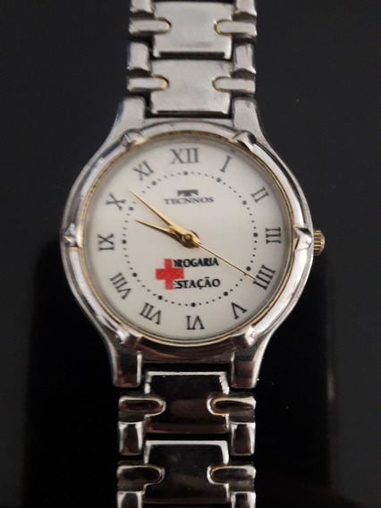 Relógio Antigo Da Drogaria Estação