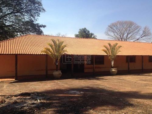 Imagem 1 de 6 de Venda De Rural / Chácara  Na Cidade De Araraquara 9354