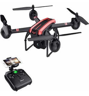 Sanrock Drones X105w Con La Cámara Para Adultos 720p Hd Wi-f