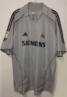 Jersey Real Madrid De Gala Año 2005 adidas David Beckham Xl