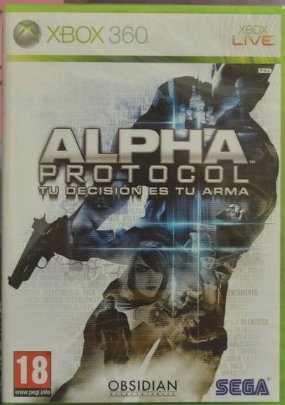 Frete10$ Alpha Protocol The Espionage Rpg Xbox 360 Jogo