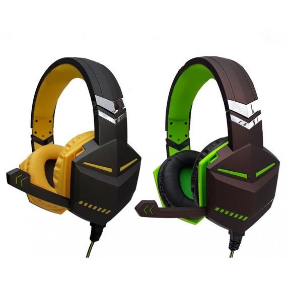 Headset Fone Gamer Feir P2 Lançamento Ps4 Xbox One Pc Fr-510