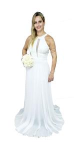 f38c57827 Vestido Casamento Civil Barato Longo - Vestidos Longos Femininas no ...