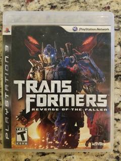 Transformers Revenge Of The Fallen Ps3 Oferta