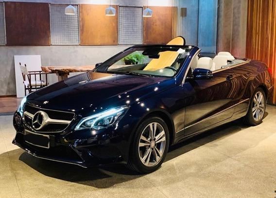 Mercedes-benz Classe E 2015 2.0 Turbo 2p Conversível