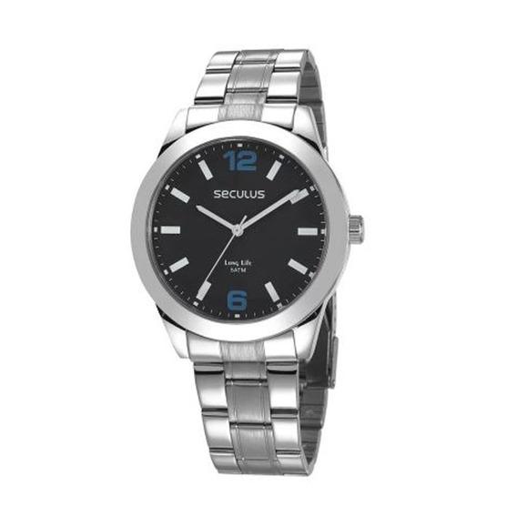 Relógio Seculus Masculino Long Life 28982g0svna1