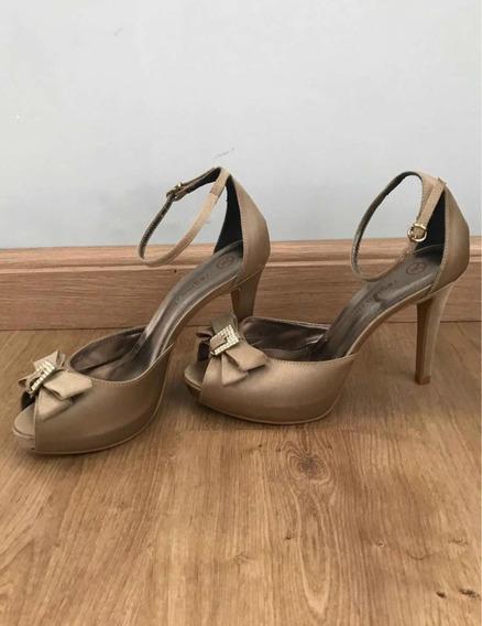 Sapato De Salto Regina Rios N37