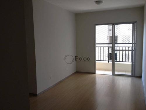 Apartamento Com 3 Dormitórios À Venda, 66 M² Por R$ 350.000,00 - Jardim Flor Da Montanha - Guarulhos/sp - Ap0827