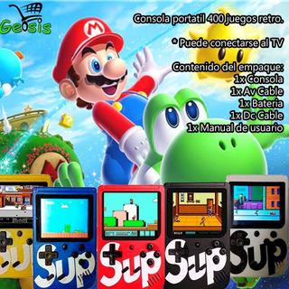 Sup Nintendo 400 Juegos Tienda Física Oferta