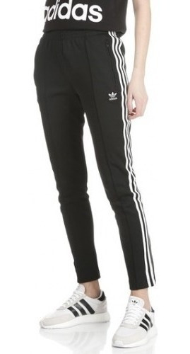 Pantalón Lifestyle adidas Sst Tp Negro Mujer Ce2400 In