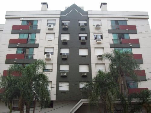 Apartamento De 2 Dormitórios Semi-mobiliado - 4239