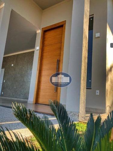 Imagem 1 de 14 de Casa Nova, Fino Acabamento, Em Condomínio Fechado! - Ca1584