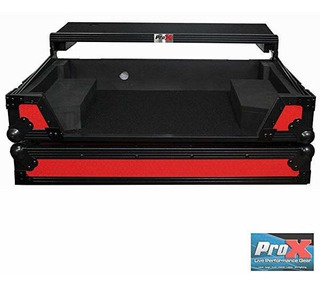 Prox Flight Case Pioneer Ddj-sx2 Led Kit Included Red On B ®