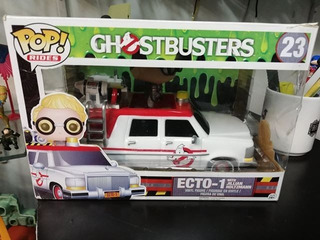 Funko Pop Rides Ghostbusters 2016 Ecto 1 Jillian Holtzma #23