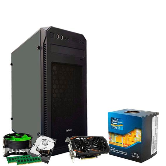 Pc Gamer I7 3770, 16gb, 1tb, Geforce 6gb 1660 Gtx + Nfe