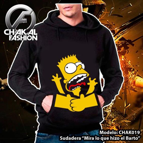 Sudadera Mira Lo Que Me Hizo El Barto Simpsons Ck020