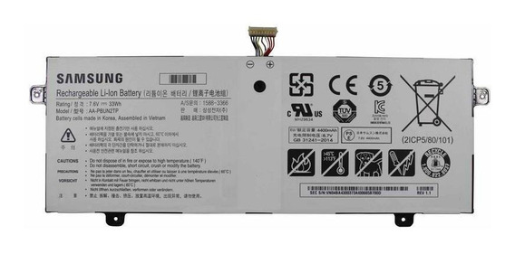 Bateria Samsung Chromebook Xe500c13 Aa-pbun2tp (11643)