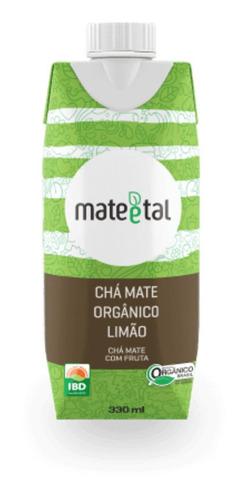 Chá Mate Orgânico Sabor Limão 330 Ml (01 Unidade)