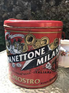 Lata Tipo Vintage Panettone Milano