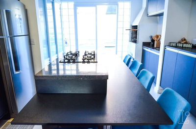 Casa Condomínio Em Guarujá Com 3 Dormitórios - Lu271871