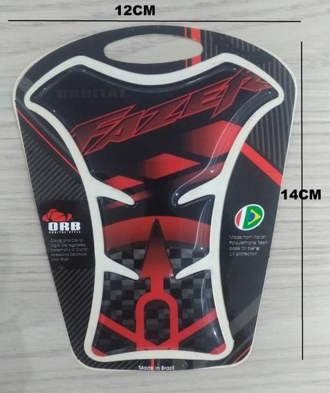 Protetor De Tanque Resinado Pra Moto Yamaha Fazer 150 250 Verm