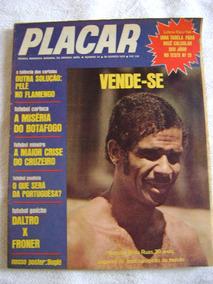 Placar No.24 Ago 1970 Ed Abril Rara Com Pôster Leia Anúncio!