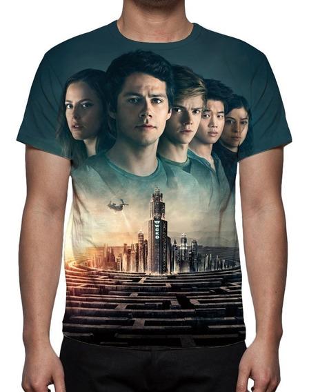 Camiseta Filme Maze Runner A Cura Mortal