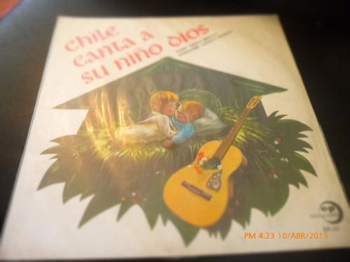 Vinilo Lp Del Coro Santa Marta -cile Canta A Su Niño  (u1053