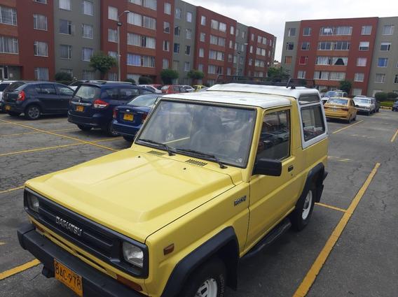Daihatsu Rocky 1987 4x4 Diesel 2700 C.c