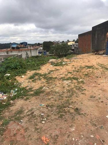 Terreno À Venda, 250 M² Por R$ 110.000,00 - Jardim Monte Verde (caucaia Do Alto) - Cotia/sp - Te0426