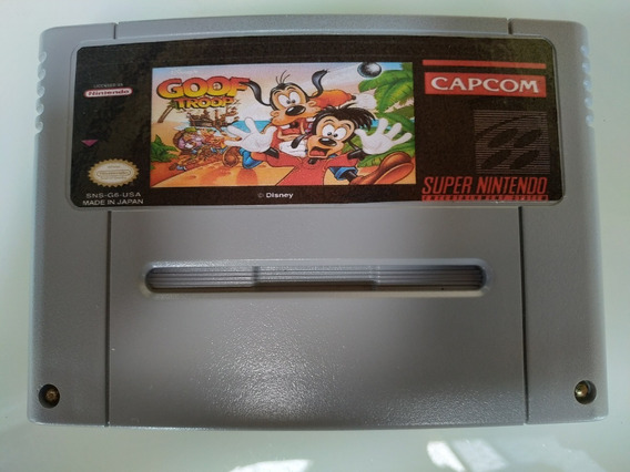 Goof Troop Repro Placa Original Português Super Nintendo