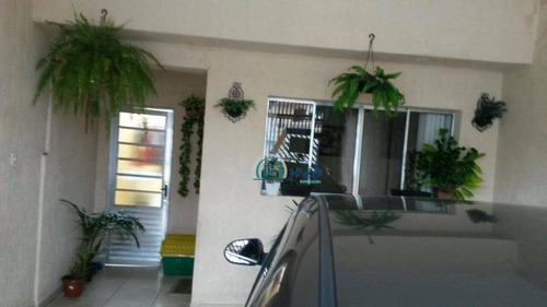 Imagem 1 de 5 de Casa Com 3 Dormitórios À Venda, 123 M² Por R$ 420.000,00 - Vila Linda - Santo André/sp - Ca0206