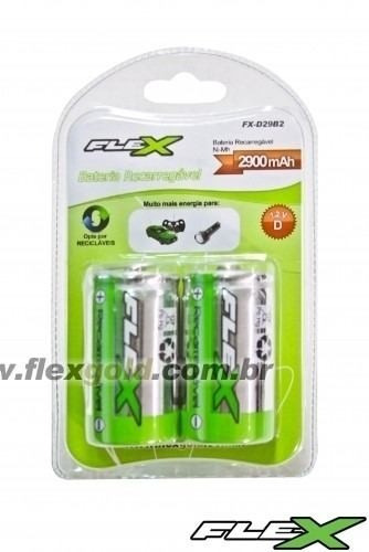 Bateria Recarregavel Fx-d29b2