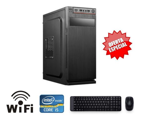Cpu Montada Intel I5 4gb Hd 320 Windows 10 + Super Brinde!