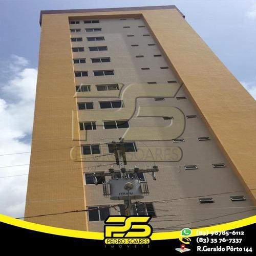 Apartamento Com 3 Dormitórios À Venda, 70 M² Por R$ 430.000 - Bairro Dos Estados - João Pessoa/pb - Ap2408