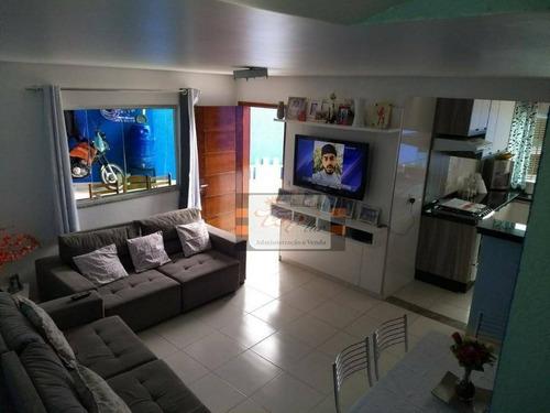 Sobrado Com 2 Dormitórios À Venda, 80 M² Por R$ 450.000,00 - Perus (zona Norte) - São Paulo/sp - So0605