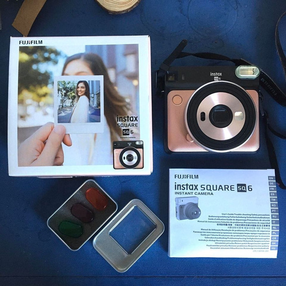 Câmera Instax Square 06 (fujifilm) - Polaroid