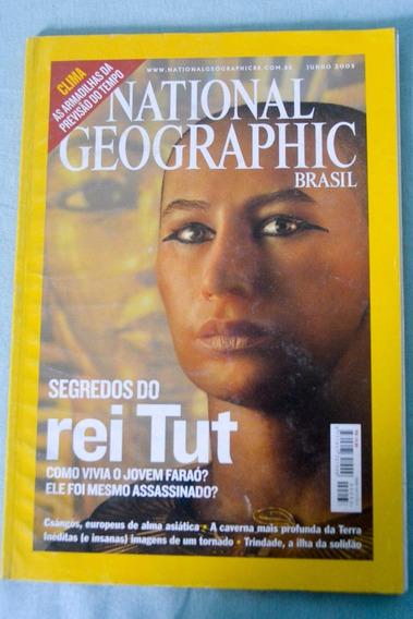 National Geographic - Ed Junho De 2005 - Segredos Do Rei Tut
