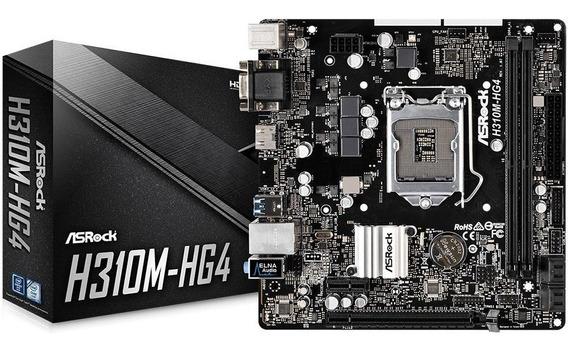Core I3 8100t + Mb Asrock H310m-hg4 Ddr4 + 8gb Ddr4 + Fan