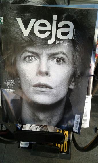 Revista Veja Bowie Coleçáo 2016 R$ 30,00