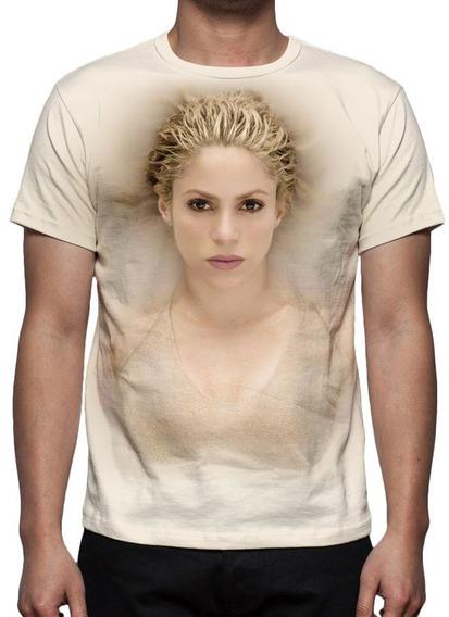 Camiseta Shakira El Dorado Mod 01 - Estampa Total