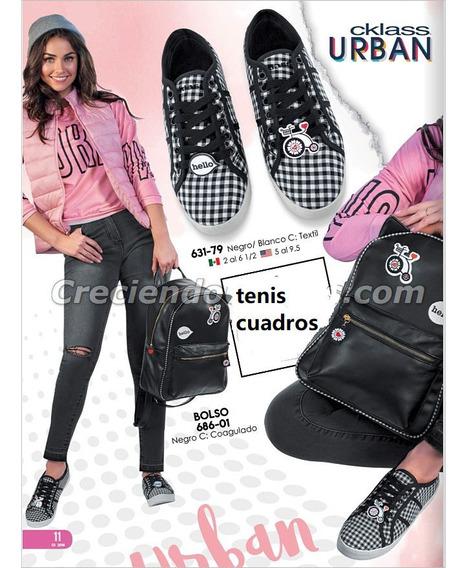 Tenis Cuadros Cklass Mod.631-79 Oferta