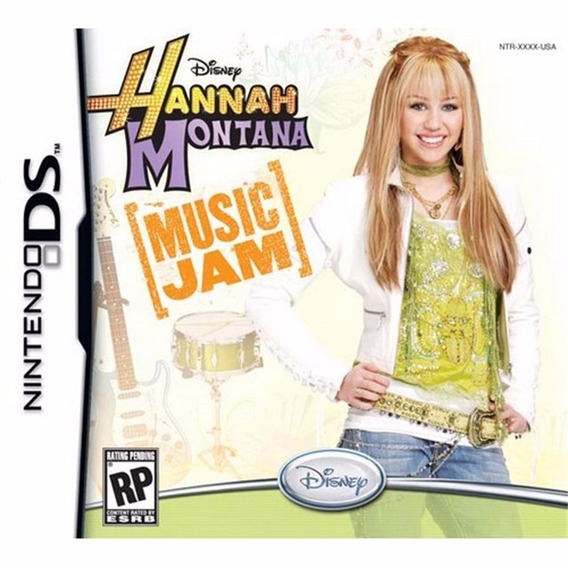 Jogo Ds Hannah Montana Music Jam