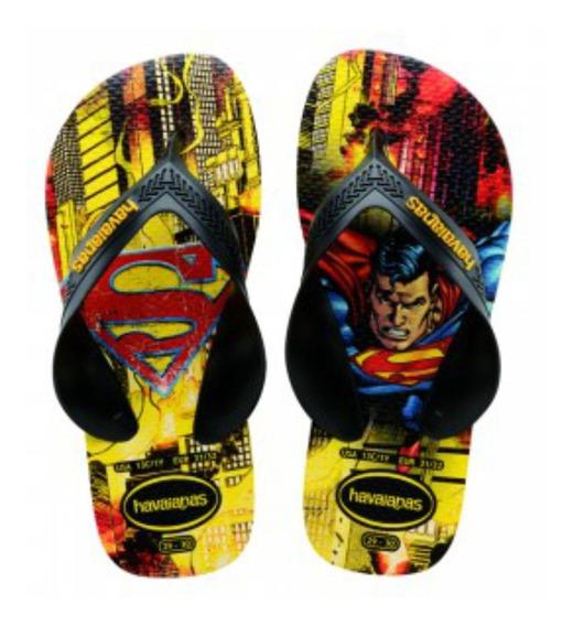 Ojotas Superman Super Heroes Havaianas - Mundo Manias