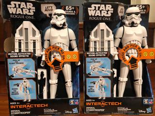 Star Wars Figura Electrónica Muñeco Imperial Stormtrooper